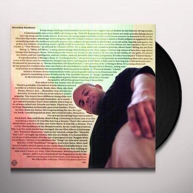 Homeboy Sandman SUBJECT: MATTER Vinyl Record