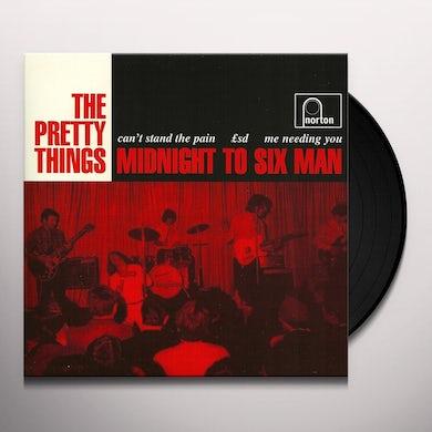 The Pretty Things MIDNIGHT TO SIX MAN Vinyl Record