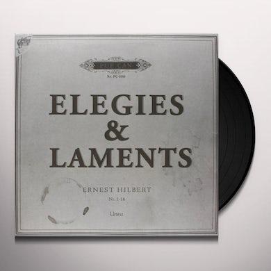 Ernest Hilbert ELEGIES & LAMENTS Vinyl Record