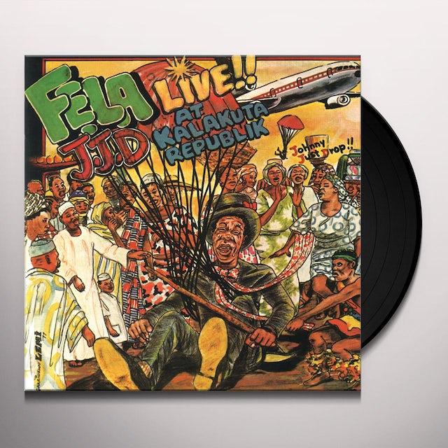 Fela Kuti J.J.D. (JOHNNY JUST DROP) Vinyl Record