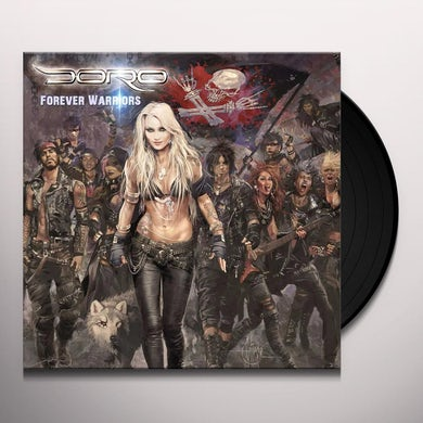 Doro FOREVER WARRIORS Vinyl Record