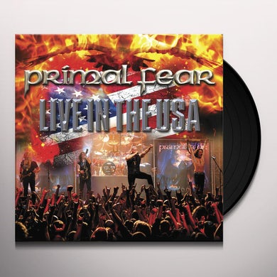 Primal Fear Live In The Usa Vinyl Record