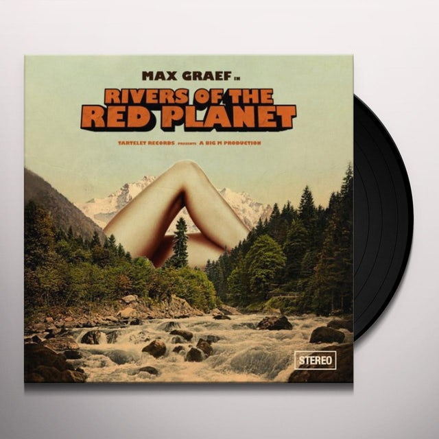 Max Graef RIVERS OF THE RED PLANET Vinyl Record