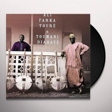 Ali Farka Toure Ali & Toumani Vinyl Record