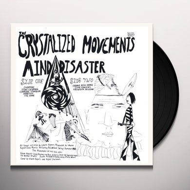 Crystalized Movements MIND DISASTERS Vinyl Record