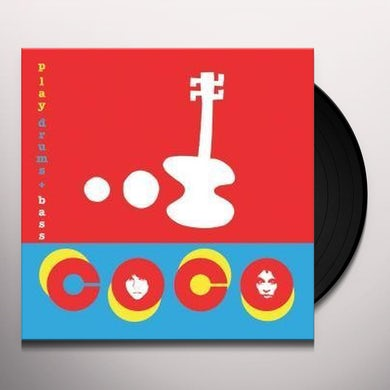 Coco PLAY DRUMS + BASS Vinyl Record