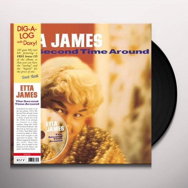 Etta James SECOND TIME AROUND (BONUS CD) (Vinyl)