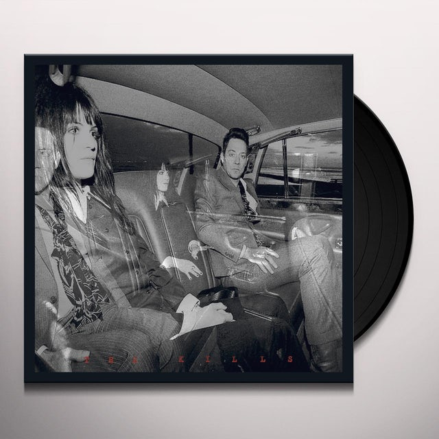 The Kills BLOOD PRESSURES Vinyl Record
