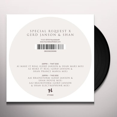 SPECIAL REQUEST X GERD JANSON & SHAN Vinyl Record
