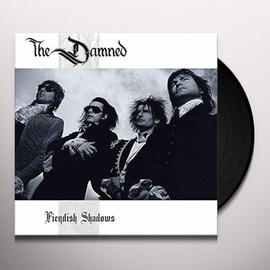 The Damned FIENDISH SHADOWS Vinyl Record