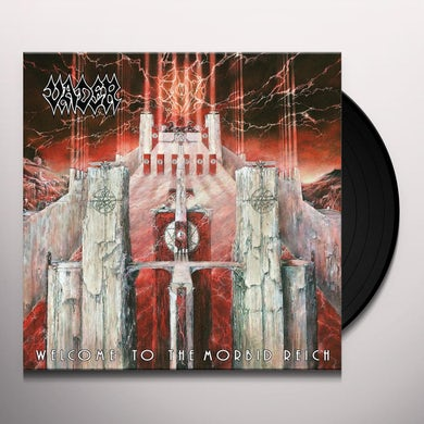 Vader WELCOME TO THE MORBID REICH Vinyl Record