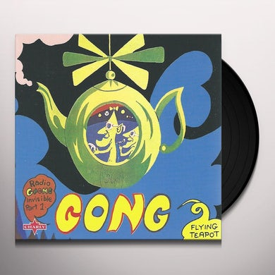Gong FLYING TEAPOT Vinyl Record