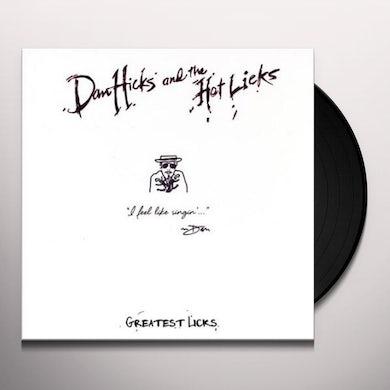 Dan Hicks & Hot Licks GREATEST LICKS - I FEEL LIKE SINGIN Vinyl Record