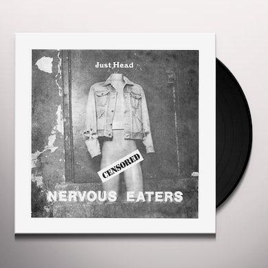 Nervous Eaters JUST HEAD Vinyl Record