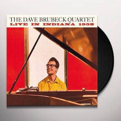 Dave Quartet Brubeck LIVE IN INDIANA 1958 Vinyl Record