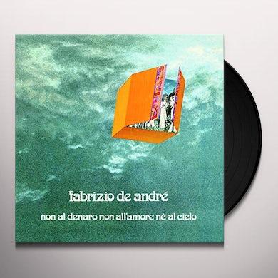 Fabrizio De André NON AL DENARO NON ALL'AMORE NE AL CIELO Vinyl Record