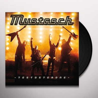 Mustasch TESTOSTERONE Vinyl Record - Portugal Release