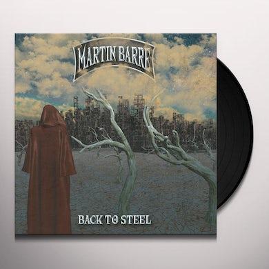 Martin Barre BACK TO STEEL Vinyl Record