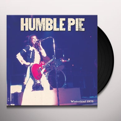 Humble Pie WINTERLAND 1973 Vinyl Record