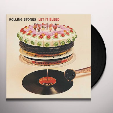 The Rolling Stones Let It Bleed (50th Anniversary Edition) (LP) Vinyl Record