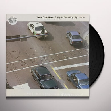Don Caballero SINGLES BREAKING UP VOL. 1 Vinyl Record