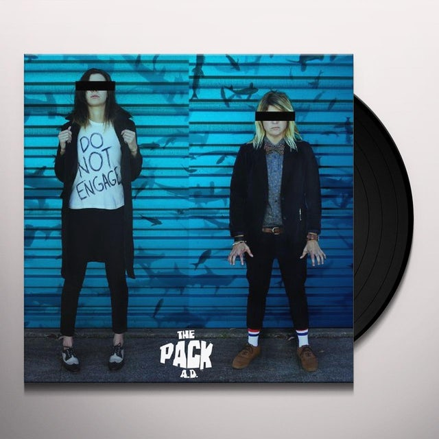 The Pack a.d. DO NOT ENGAGE Vinyl Record