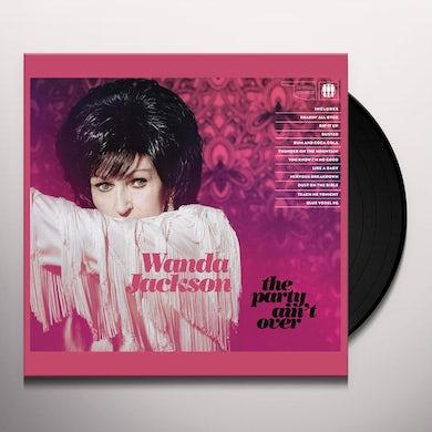 Wanda Jackson PARTY AIN'T OVER Vinyl Record