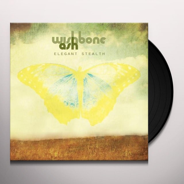 Wishbone Ash ELEGANT STEALTH Vinyl Record