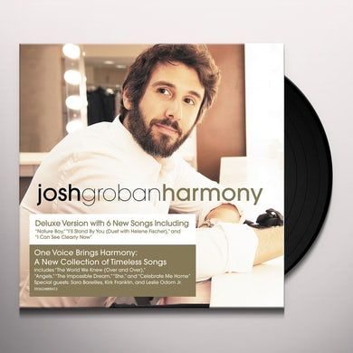 Josh Groban HARMONY Vinyl Record