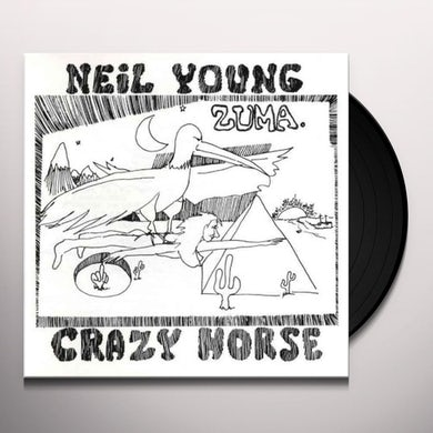 Neil Young & Crazy Horse Zuma Vinyl Record