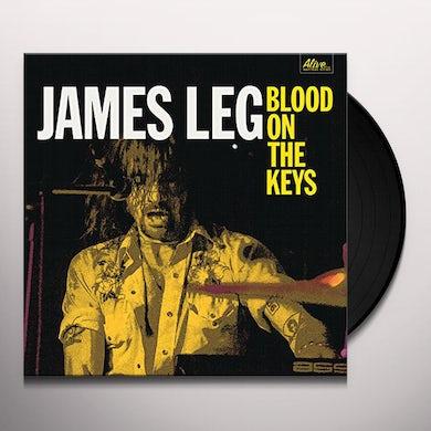 James Leg BLOOD ON THE KEYS Vinyl Record