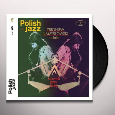 Zbigniew Quintet Namyslowski KUJAVIAK GOES FUNKY (POLISH JAZZ VOL 46) Vinyl Record