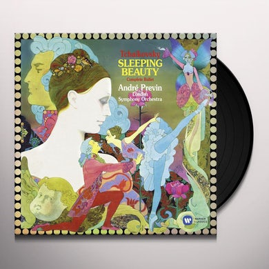 Andre Previn TCHAIKOVSKY: THE SLEEPING BEAUTY Vinyl Record