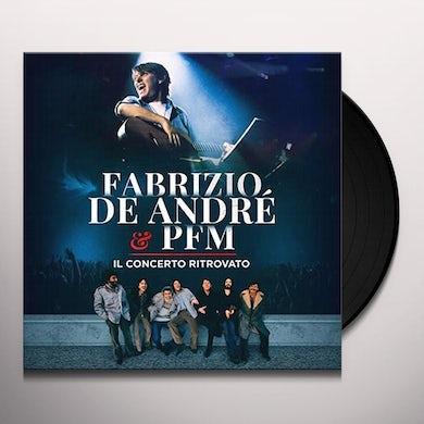 Fabrizio De Andre / Pfm FABRIZIO DE ANDRE & PFM IL CONCERTO RIT Vinyl Record