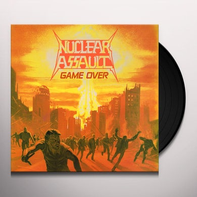 Nuclear Assault GAME OVER Vinyl Record