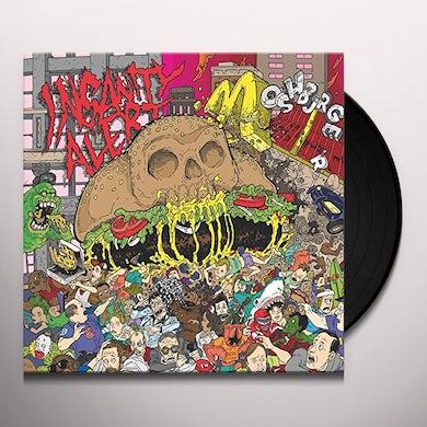 Insanity Alert MOSHBURGER Vinyl Record