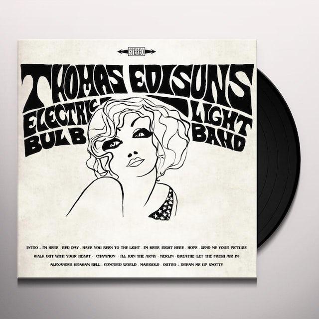 Thomas Electric Light Bulb Band Edisun RED DAY ALBUM Vinyl Record