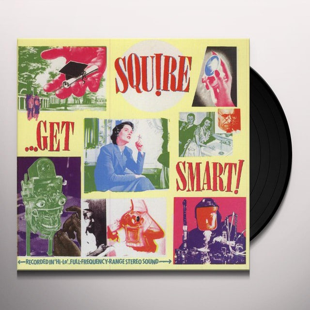 Squire GET SMART Vinyl Record