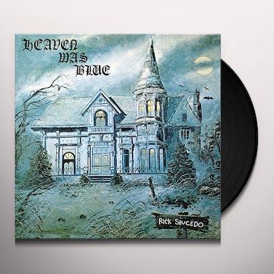 Rick Saucedo HEAVEN WAS BLUE (2LP) Vinyl Record