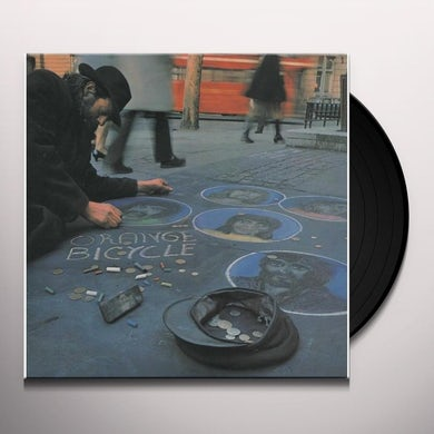 Orange Bicycle Vinyl Record