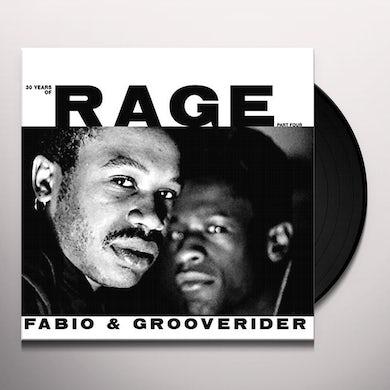 Fabio & Grooverider 30 YEARS OF RAGE PART 4 Vinyl Record