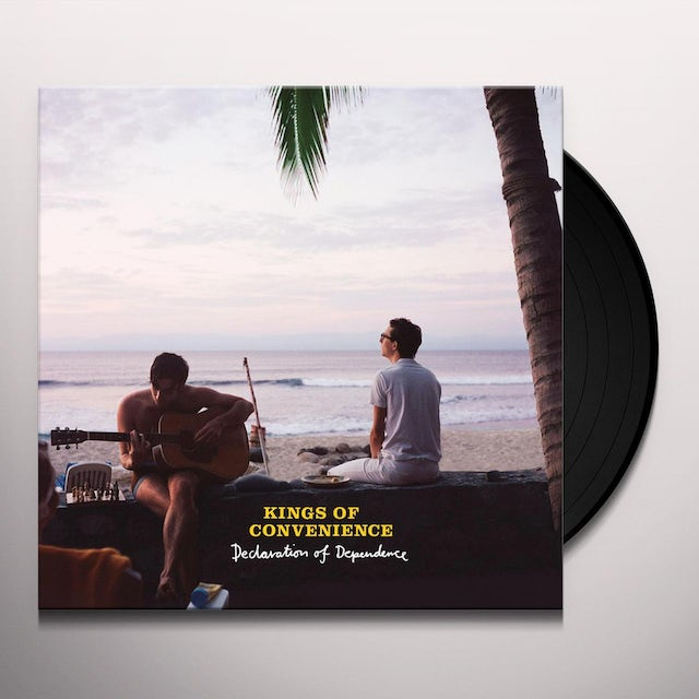 Kings Of Convenience DECLARATION OF DEPENDENCE Vinyl Record