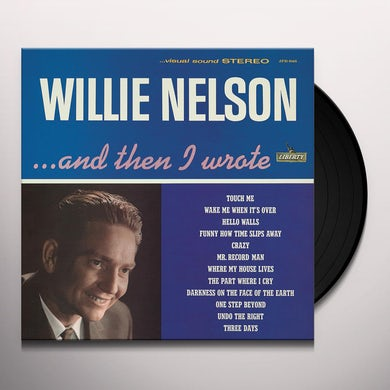 Willie Nelson ...AND THEN I WROTE Vinyl Record
