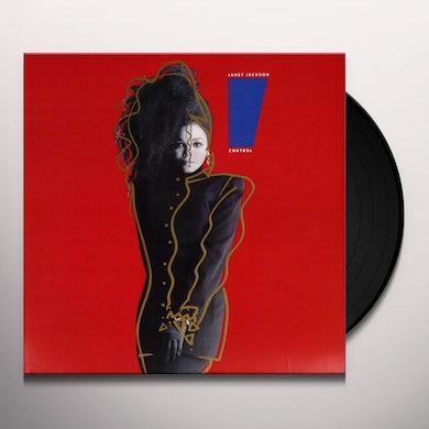Janet Jackson CONTROL Vinyl Record