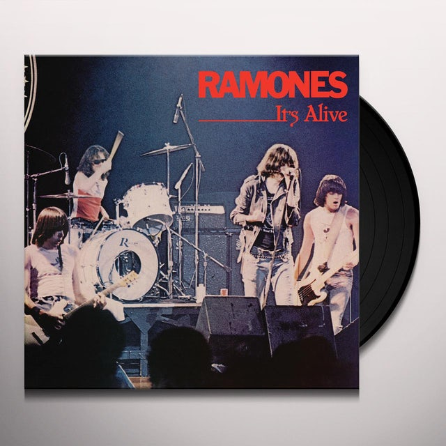 Ramones IT'S ALIVE (LIVE) Vinyl Record