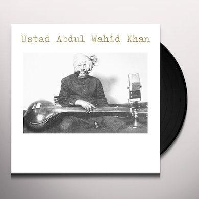 Estad Abdul Wahid Khan USTAD ABDUL WAHID KHAN Vinyl Record