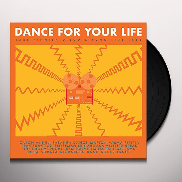 Dance For Your Life - Rare Finnish Funk / Var