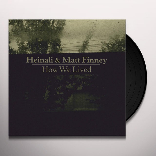 Heinali / Matt Finney HOW WE LIVED Vinyl Record