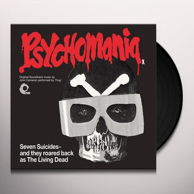 John Cameron PSYCHOMANIA - Original Soundtrack Vinyl Record