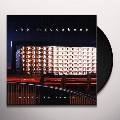 The Maccabees MARKS TO PROVE IT(ORANGE VINYL) Vinyl Record - UK Release
